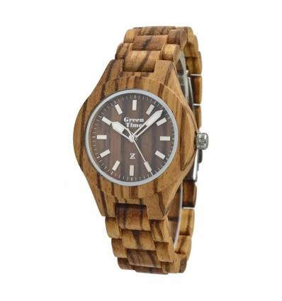 Orologio Solo Tempo Total Wood Donna