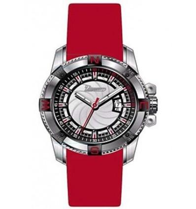 Orologio Uomo solo tempo Rosso