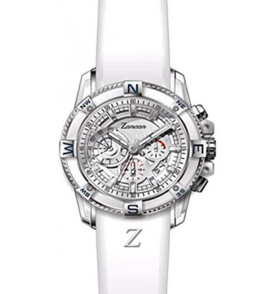 Orologio Uomo Cronografo Bianco