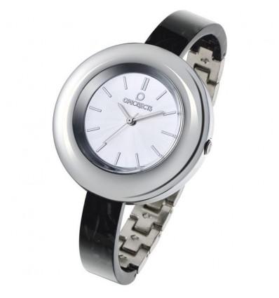 Orologio Solo Tempo Donna Lux Marble Nero