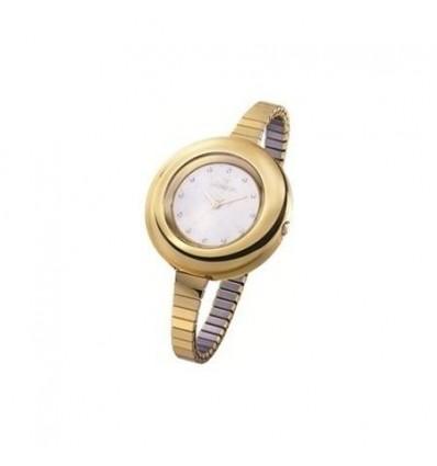 Orologio Solo Tempo Donna Lux Metal Gold