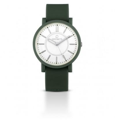 Orologio Solo Tempo Posh Verde Militare