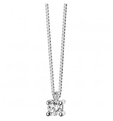 Collana Donna In Oro E Diamante Comete