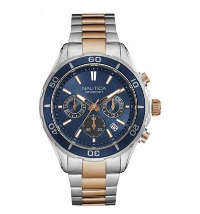 Orologio cronografo Acciaio Bicolore Uomo Nautica