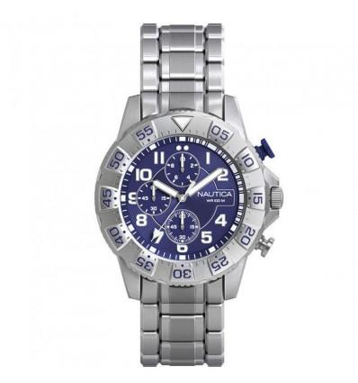 Orologio Cronografo Uomo Acciaio Nautica