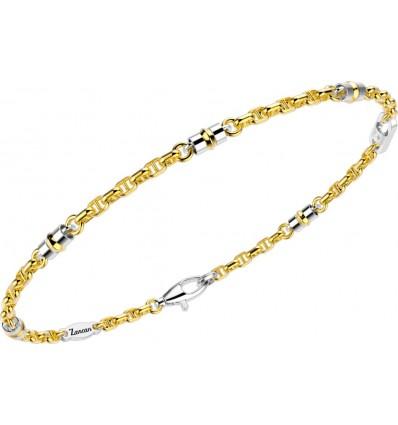 Bracciale In Oro Bicolore Zancan