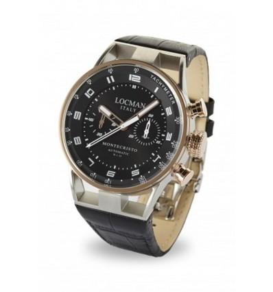Orologio Uomo Automatico Cronografo Locman