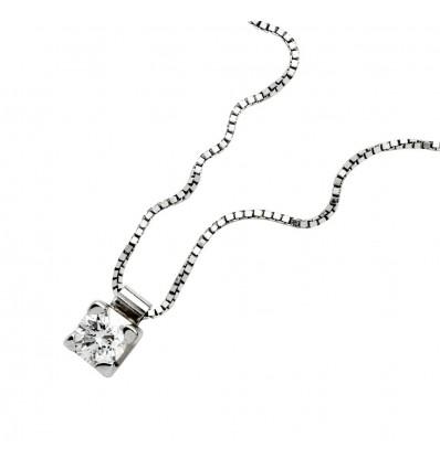 Collana In Oro E Diamante CT 0.04