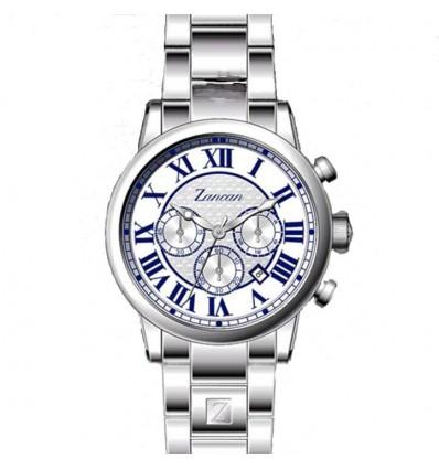 Orologio Uomo Cronografo In Acciaio