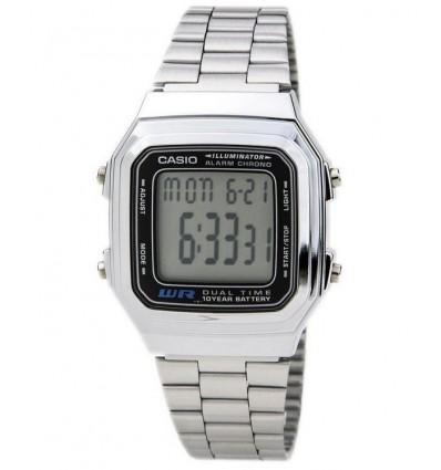 Orologio Digitale Dual Time Silver Uomo