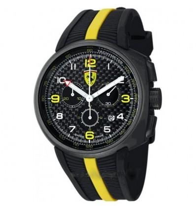 Orologio Uomo Cronografo Nero E Giallo