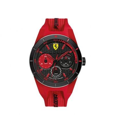 Orologio Uomo Multifunzione Rosso
