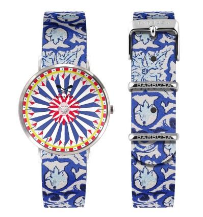 Orologio Blu Maiolica Barbosa